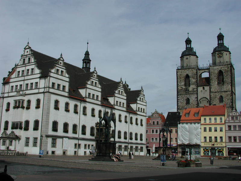 Market Square Wittenberg, photo: State Chancellery