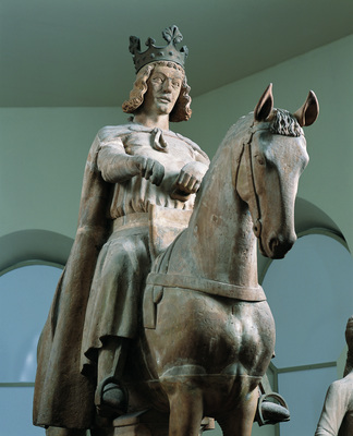 Monument Otto der Große (Otto the Great) in Magdeburg, photo: IMG