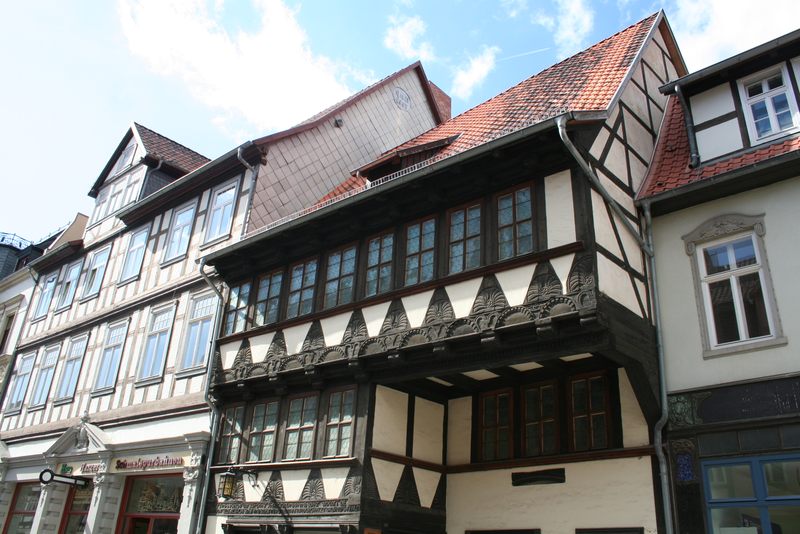 Half-timbered house in Quedlinburg; photo: State Chancellery