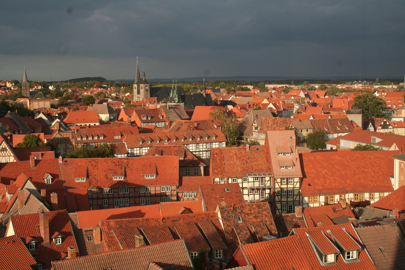 Homes in Quedlinburg; photo: State Chancellery/Ines Berger