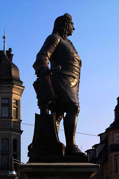 Georg Friedrich Händel monument, photo: Collection de photos de la Chancellerie d'Etat, Klaus-Peter Röder